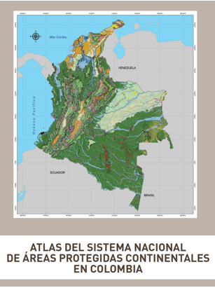mapa colombia areas