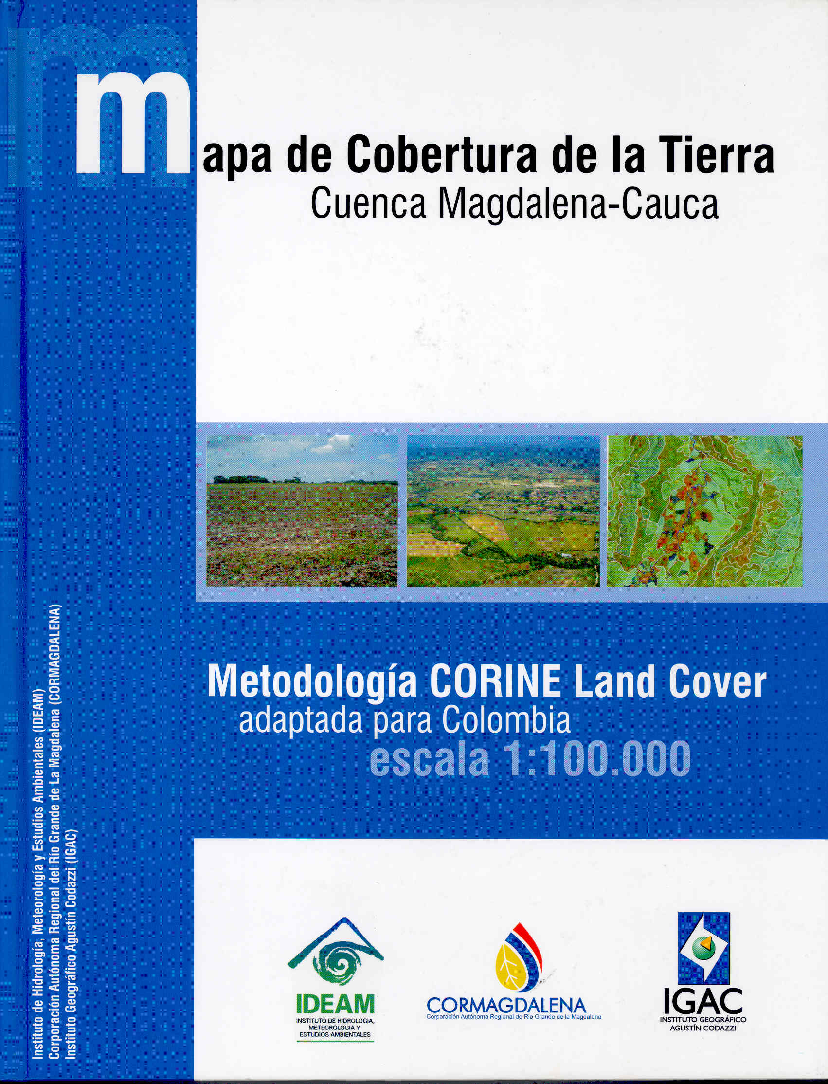 Corine land cover cuenca magdalena